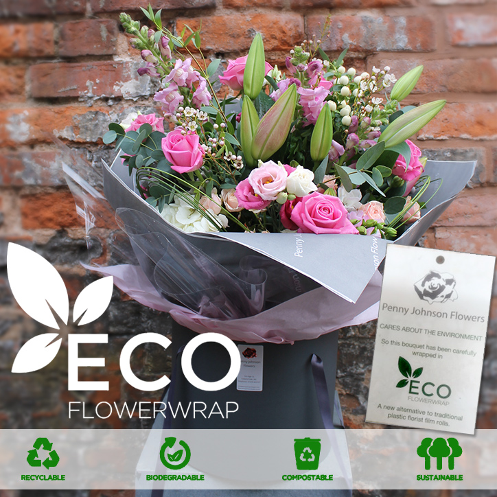 Eco Wrap at Penny Johnson Flowers