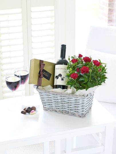 Picture of Luxury Wine Gift Basket