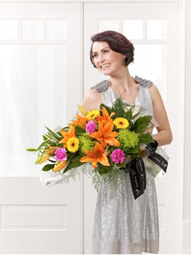 Picture of Vibrant Presentation Bouquet