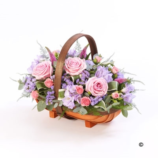 Picture of Mixed Basket - Pink and Lilac