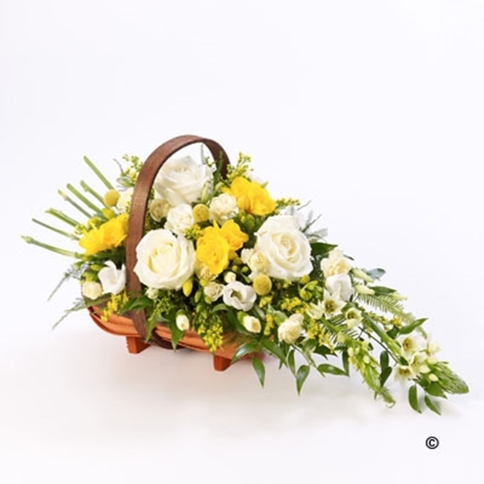 Picture of Mixed Basket - Yellow and White