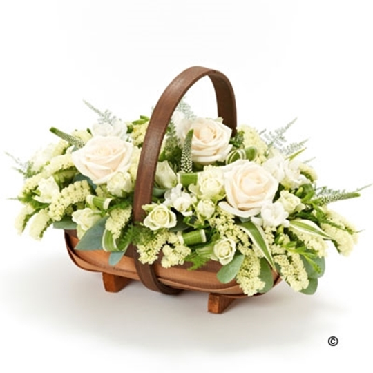 Picture of Mixed Basket - White Lge