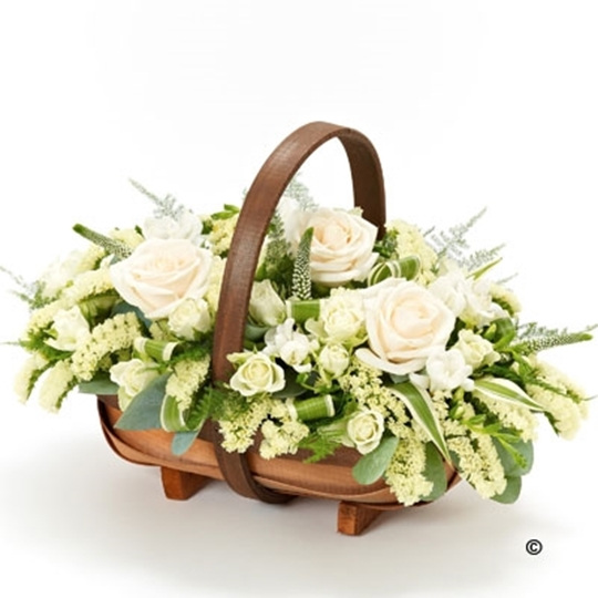 Picture of Mixed Basket - White Xl