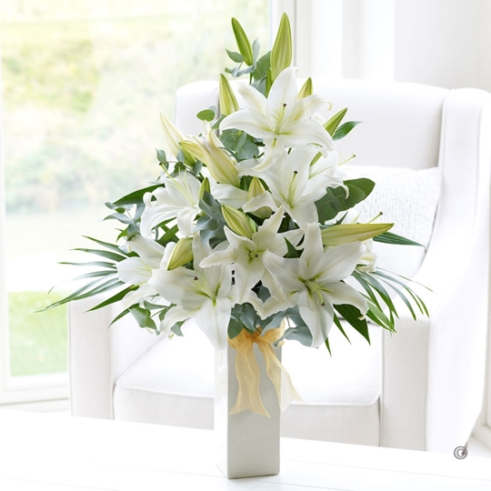 Picture of Thinking of You Vase Plus