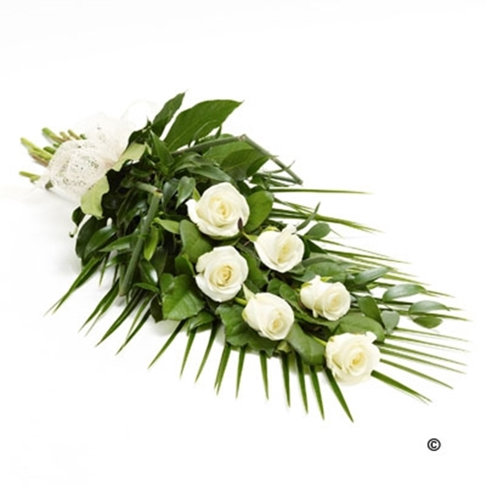 Picture of Simple Rose Sheaf - White