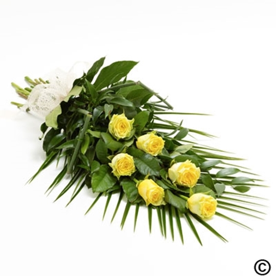 Picture of Simple Rose Sheaf - Yellow