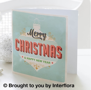 Picture of Merry Christmas Greetings Card