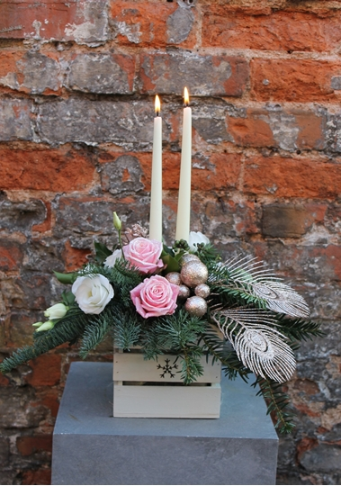 Picture of Christmas Table  Arrangement