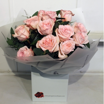 Picture of Amour Pink Dozen Rose Bouquet