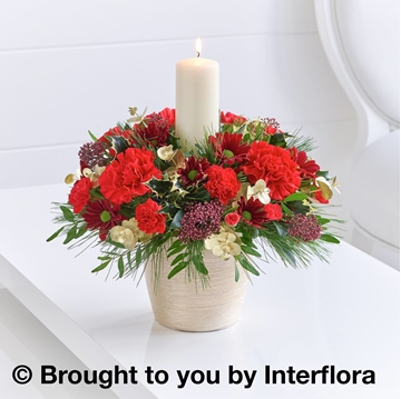 Picture of Christmas Charm Candle Arrangement