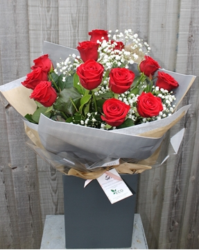Picture of Naomi Red Rose Bouquet