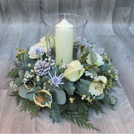 Picture of Frosted Table Display
