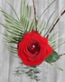Picture of Single Red Rose In Vase