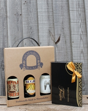 Picture of Church End Brewery Beer Set & Chocolates