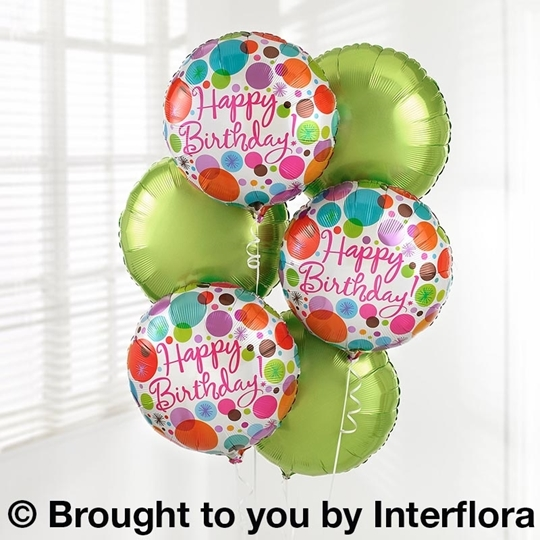 Picture of Birthday Balloon Bouquet's