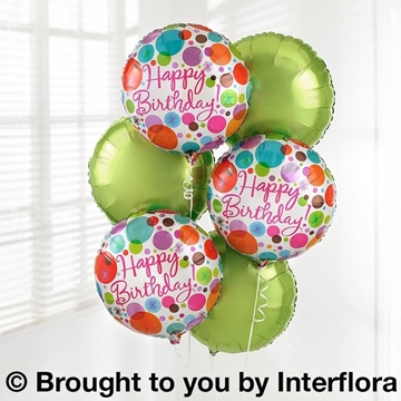 Picture of Birthday Balloon Bouquet