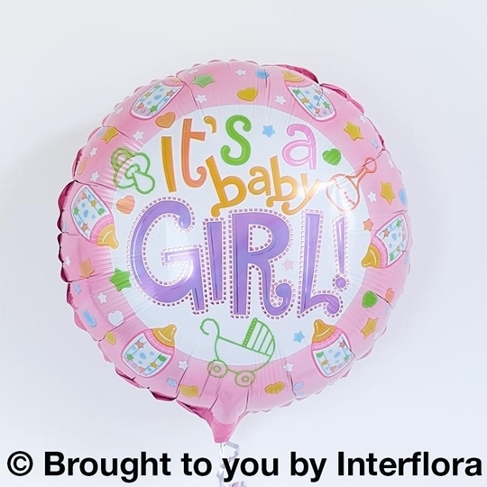 Picture of Baby Girl Balloon