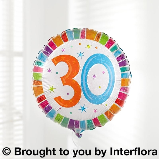 Picture of 30th Birthday Balloon