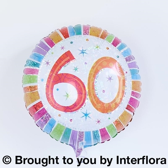 Picture of 60th Birthday Balloon