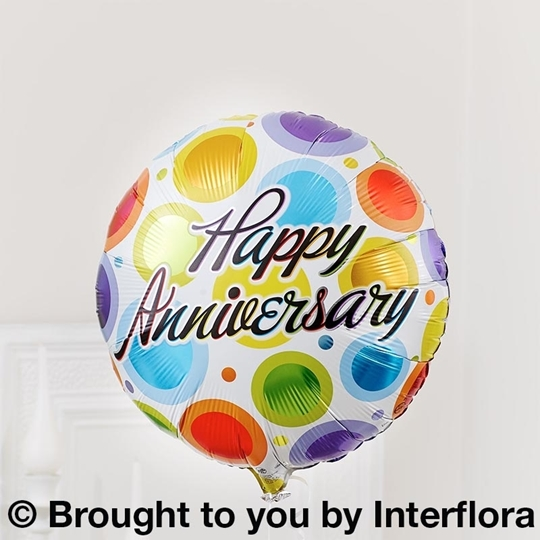 Picture of Happy Anniversary Balloon