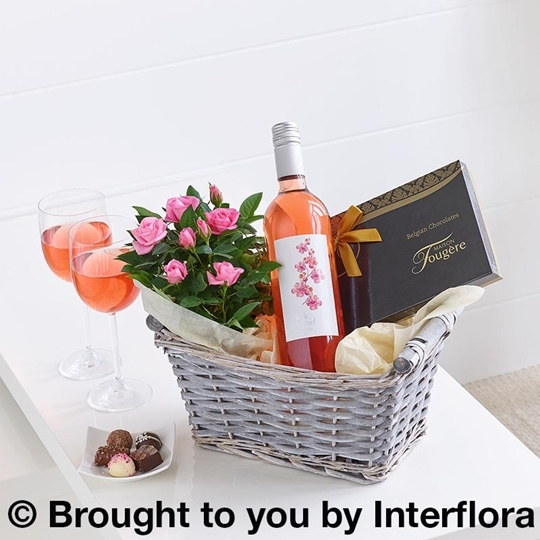 Picture of Luxury Rosé Wine Gift Basket