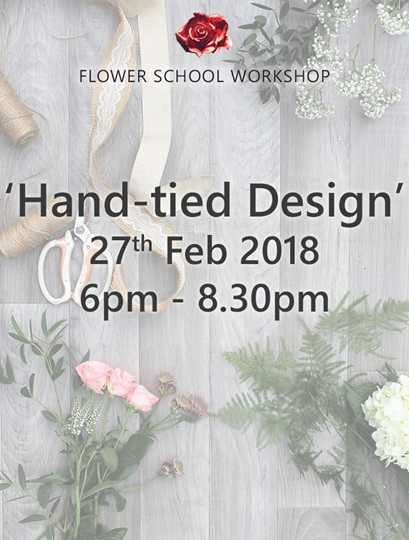 Picture of 'Hand Tied Design' Evening Workshop (deposit) - 27th Feb 2018, 6pm-8.30pm