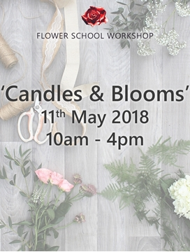 Picture of 'Candles & Blooms' Workshop (deposit) - 11th May 2018, 10am-4pm