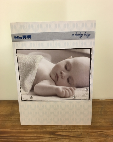 Picture of Baby Boy Greetings Card