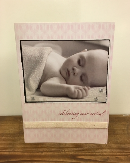 Picture of Baby Girl Greetings Card