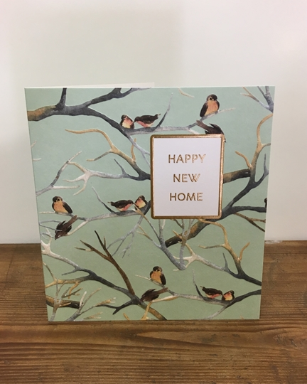 Picture of Birds New Home Card
