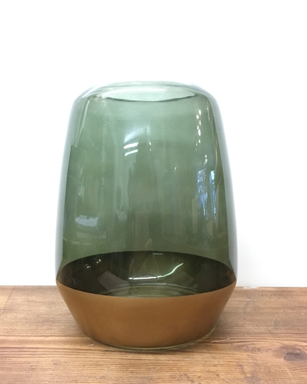 Picture of Olive Green & Gold Vase