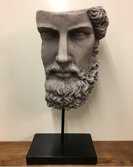 Picture of Socrates Head on Base (CURRENTLY OUT OF STOCK)