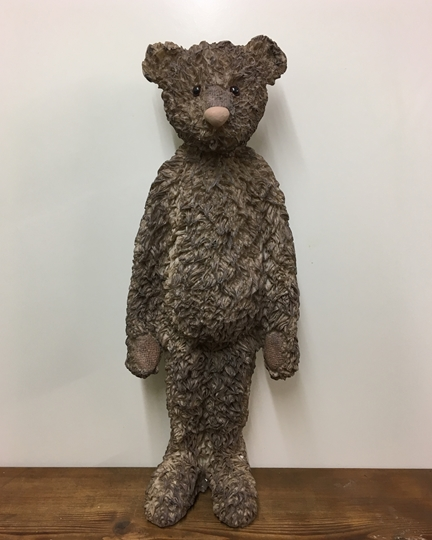 Picture of Ernest' Resin Teddy Bear