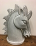Picture of Grey Ceramic Horse Head
