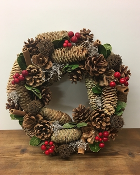 Picture of Cinnamon Berry Wreath