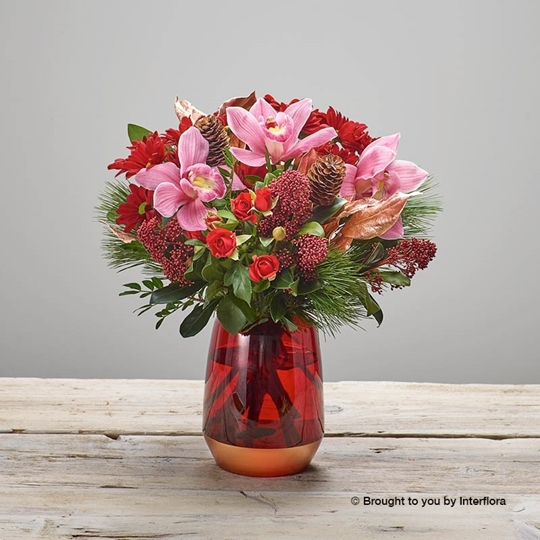 Picture of Opulent Orchid Vase
