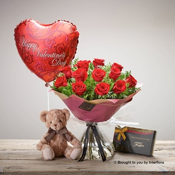 Picture of Be Mine Rose Gift Set