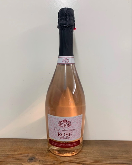 Picture of Vino Spumante Extra Dry Sparkling Rose Wine 75cl Bottle