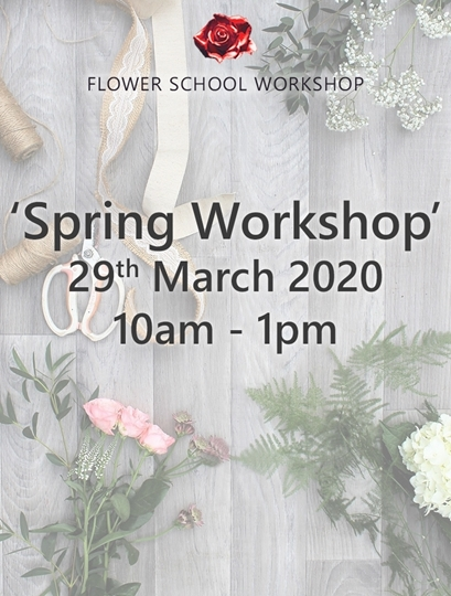 Picture of Spring Workshop 29th March 2020, 10am-1pm