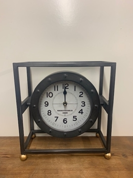 Picture of Metal Frame Mantle Clock