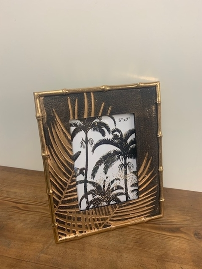 Picture of Gold Palm Photo Frame