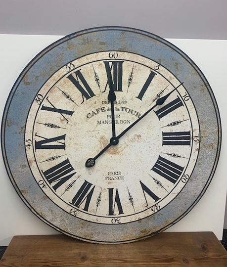 Picture of 'Cafe De La Tour' Clock