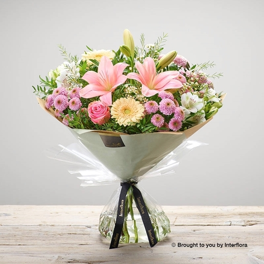 Picture of mothers day pastel hand tied
