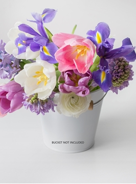 Picture of Copy of Spring Bouquet + Vase