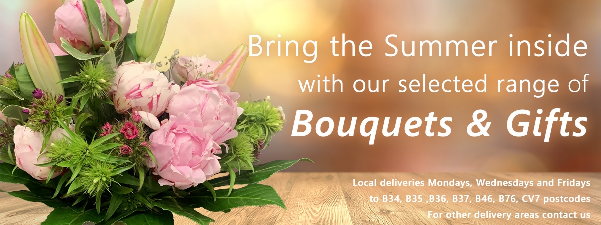 Summer Bouquets and Gifts Delivery in Birmingham
