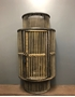 Picture of Wooden Cane Candle Lantern