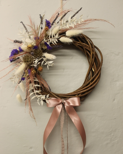 Picture of Lavender Dried Floral Wreath
