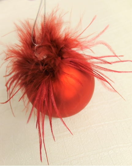 Picture of Red Feather Bauble