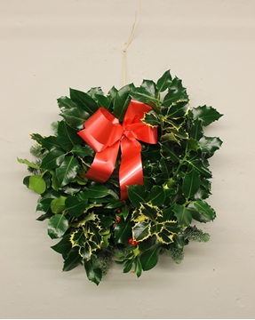Picture of CHRISTMAS HOLLY WREATH