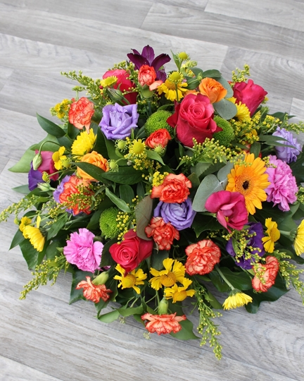 Picture of Vibrant Posy  £30